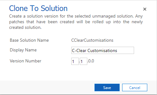 Solution management in Dynamics 365 – C Clear Partners